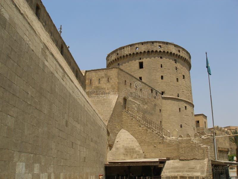Ciudadela de Saladin foto de archivo libre de regalías