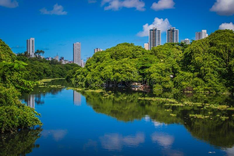 Ciudades del Brasil - Recife imagenes de archivo