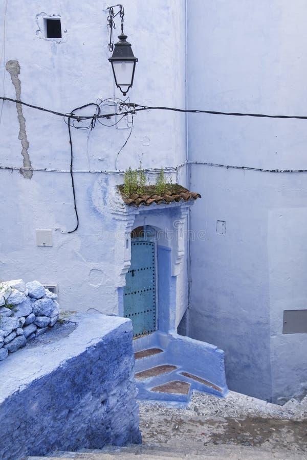 Ciudades del mundo, Chefchaouen en Marruecos fotos de archivo libres de regalías