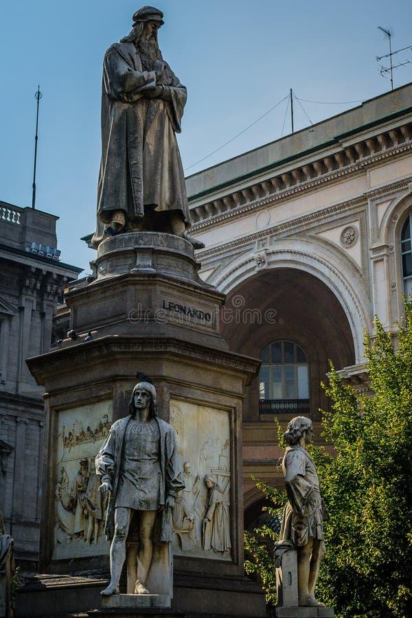 Ciudades italianas - Milán fotografía de archivo