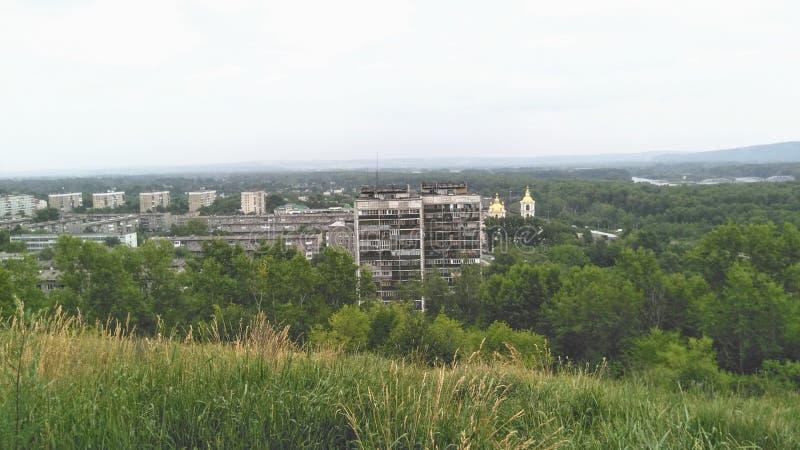 Ciudades rusas foto de archivo libre de regalías