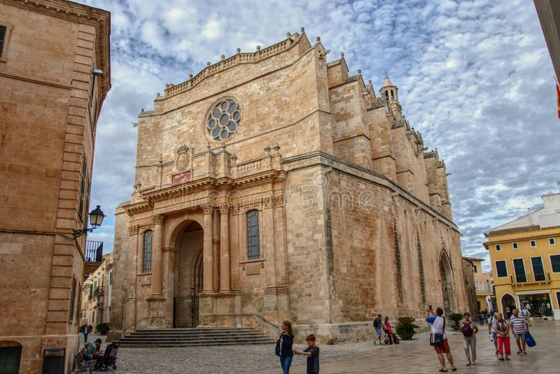 Ciutadella de menorca during the day, Spain royalty free stock images