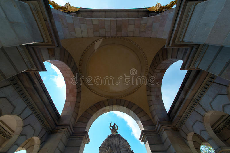 Ciutadella park w Barcelona fotografia stock