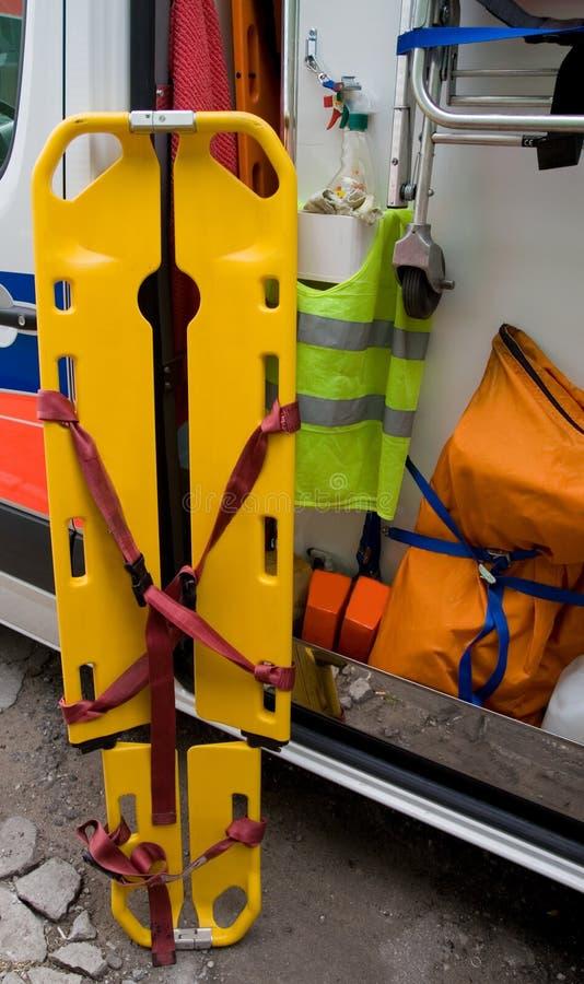 Civière d'ambulance images stock