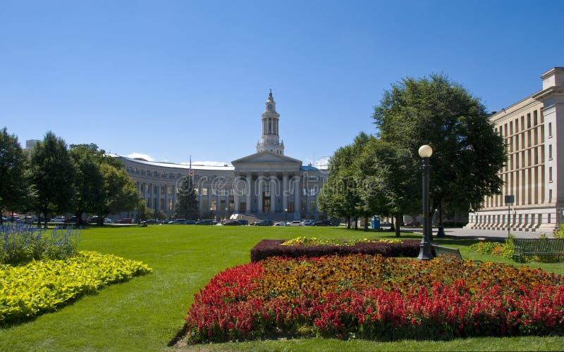 Civic Center Park in Denver, Colorado stock photos