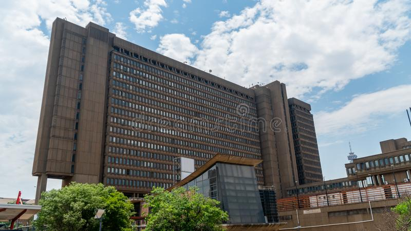 The Civic Centre in Braamfontein is the headquarters of the Johannesburg City Council, South Africa stock photos