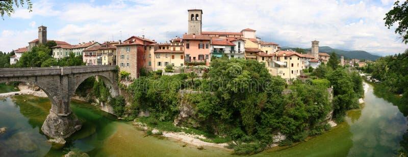 cividale del friuli中世纪城镇 免版税图库摄影