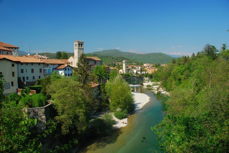 Download Cividale del Friuli, Italy stock photo. Image of village - 28249256