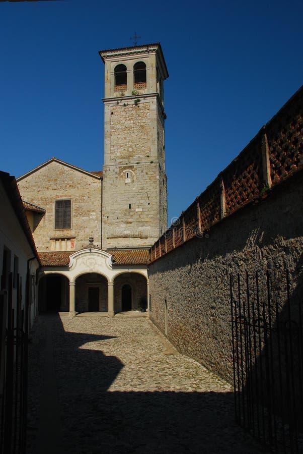 cividale del friuli maggiore monastero στοκ εικόνα με δικαίωμα ελεύθερης χρήσης