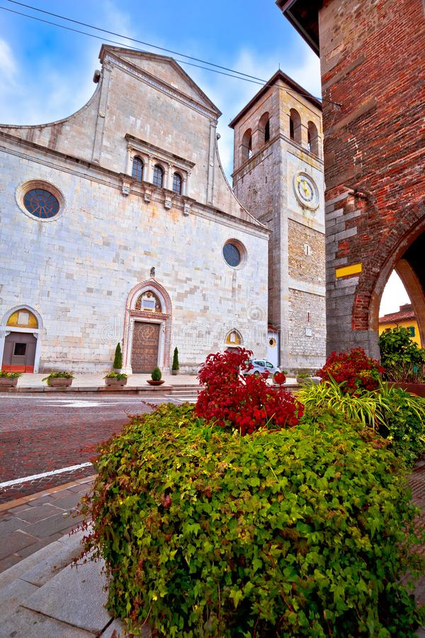 Free Cividale Del Friuli Square And Church View Royalty Free Stock Photography - 115639067