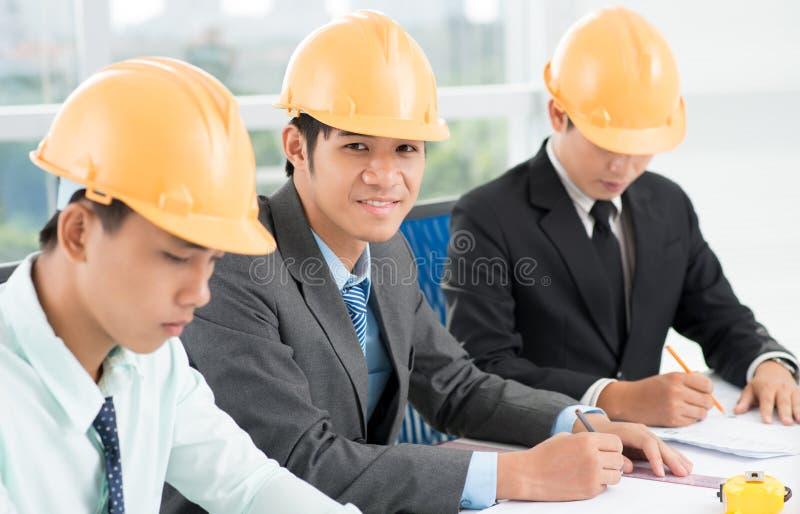Civiel-ingenieur stock foto's