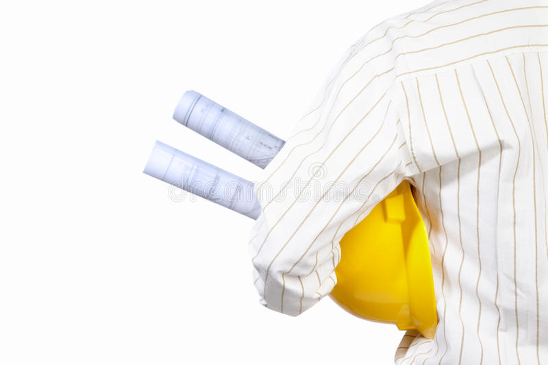 Download Civil engineer body part stock image. Image of body, isolated - 20990873