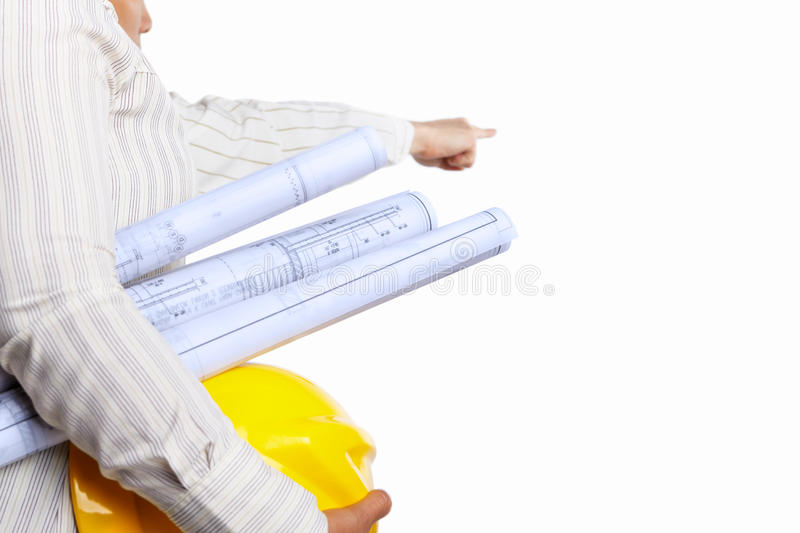 Download Civil engineer and partner stock image. Image of white - 21013215