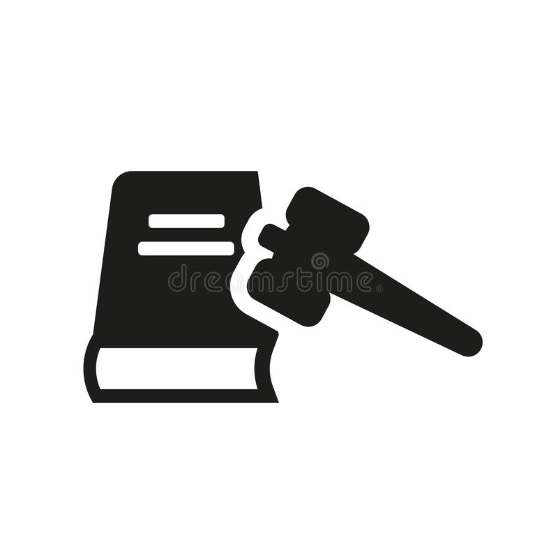 Civil rights icon. Trendy civil rights logo concept on white background from law and justice collection. Suitable for use on web apps, mobile apps and print stock illustration