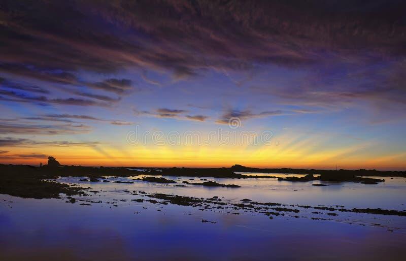 Download Civil twilight stock image. Image of ocean, images, outdoor - 26627049