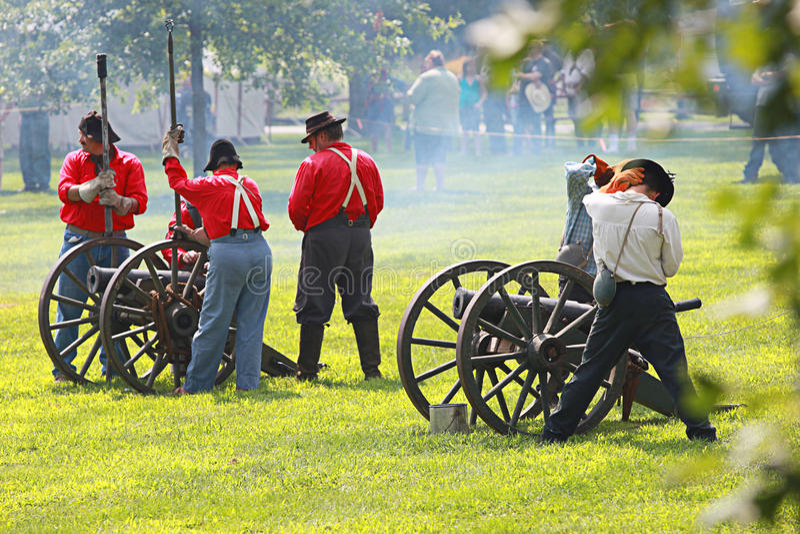 Civil War Editorial Stock Photo