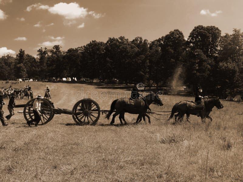 "CIVIL WAR BATTLE REENACTMENT. SMITH MOUNAIN LAKE, VA - SEPT 7: Civil War Battle Reenactment at the ""Franklin County Civil War Days"" on Sept 7, 2013 stock photos"