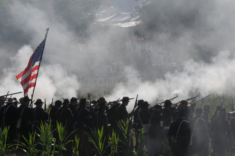 Civil War Battlefield Editorial Image