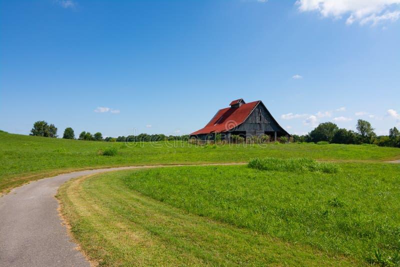 Civil War battlefield. Location of the Battle of Richmond during the Civil War.  Richmond, Kentucky, USA stock photography