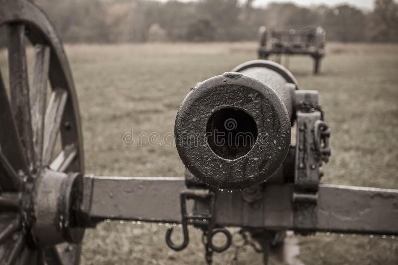 Download Civil War Cannon stock image. Image of sepia, equipment - 27793137