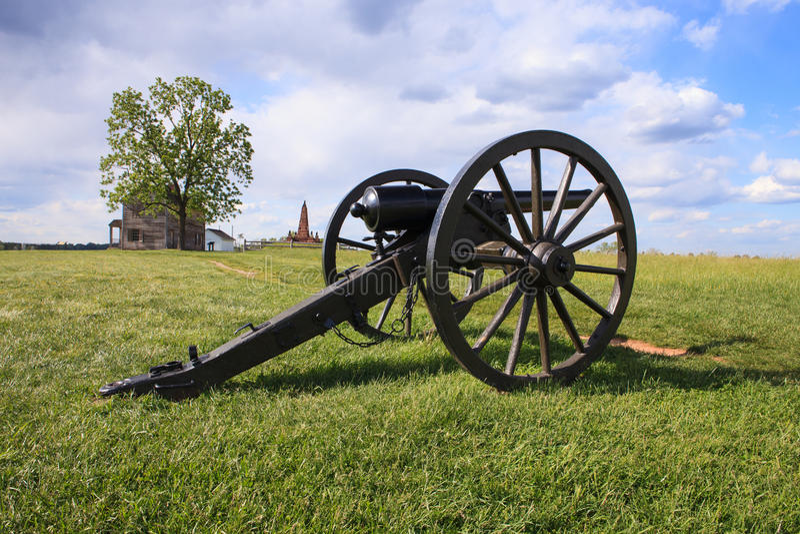 Civil War Canon Virginia Royalty Free Stock Images