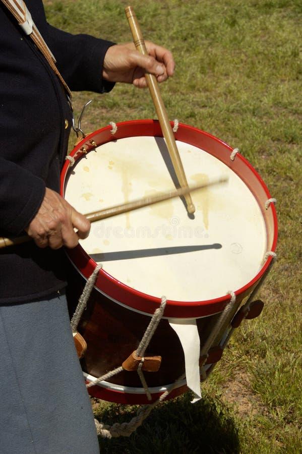 Free Civil War Drummer 1 Stock Images - 462264