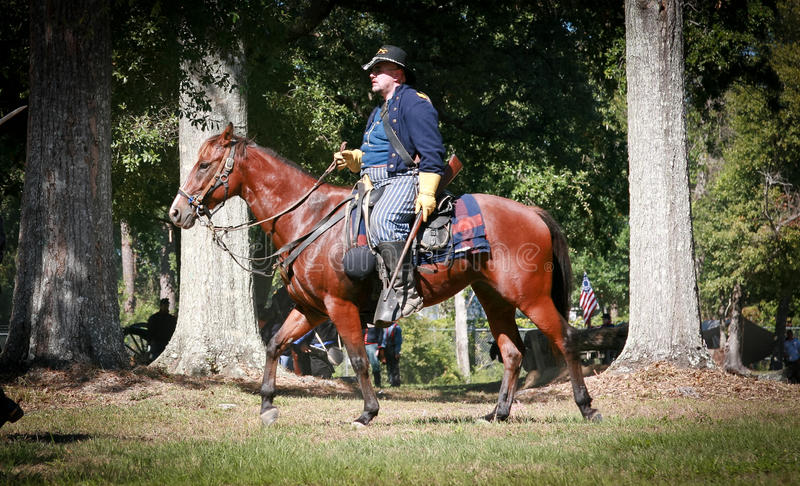 Download Civil War General On Horseback Editorial Photography - Image: 23253862