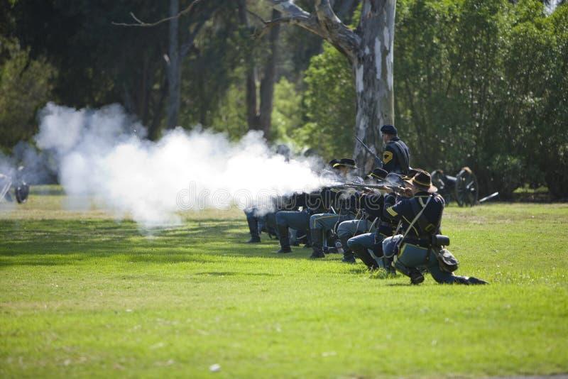 Civil War Re-Enactment 11 - Carbine Fire