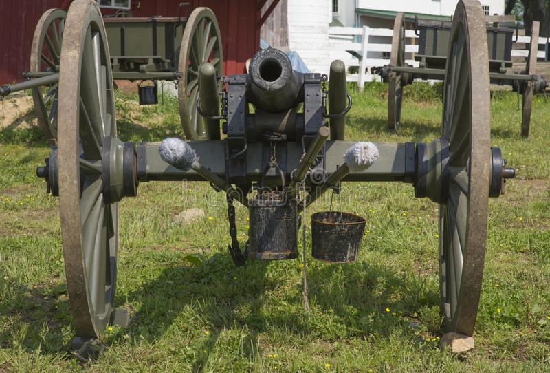Download Civil War Weapons stock photo. Image of south, cannon - 26640038