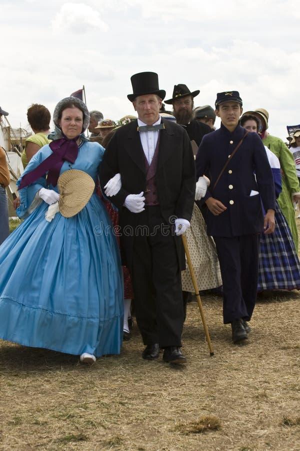Civil War Wedding stock photography