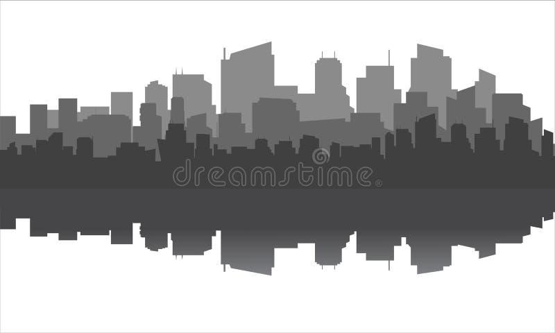 Civilizzazione urbana moderna royalty illustrazione gratis