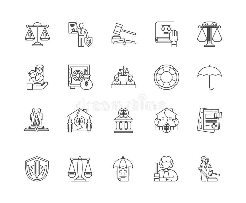 Civilr vektor illustrationer