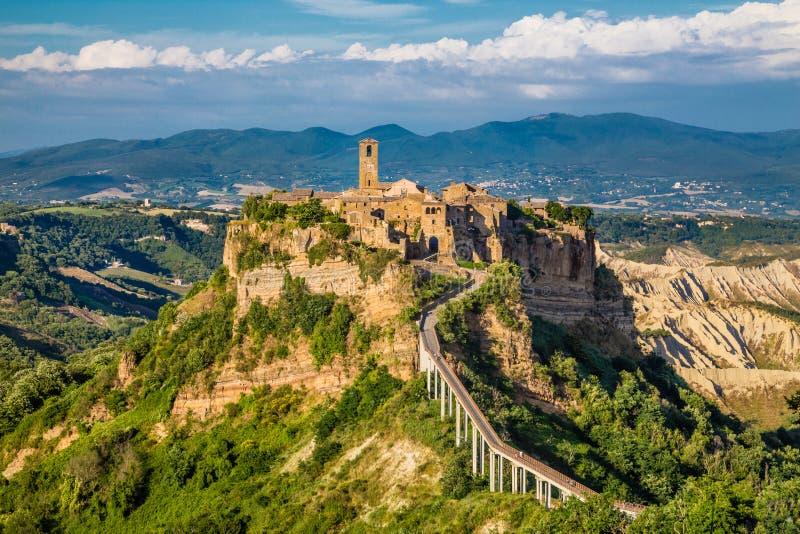 Civita Di Bagnoregio, Λάτσιο, Ιταλία στοκ φωτογραφίες με δικαίωμα ελεύθερης χρήσης