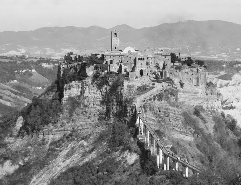 Civita di Bagnoregio photographie stock libre de droits