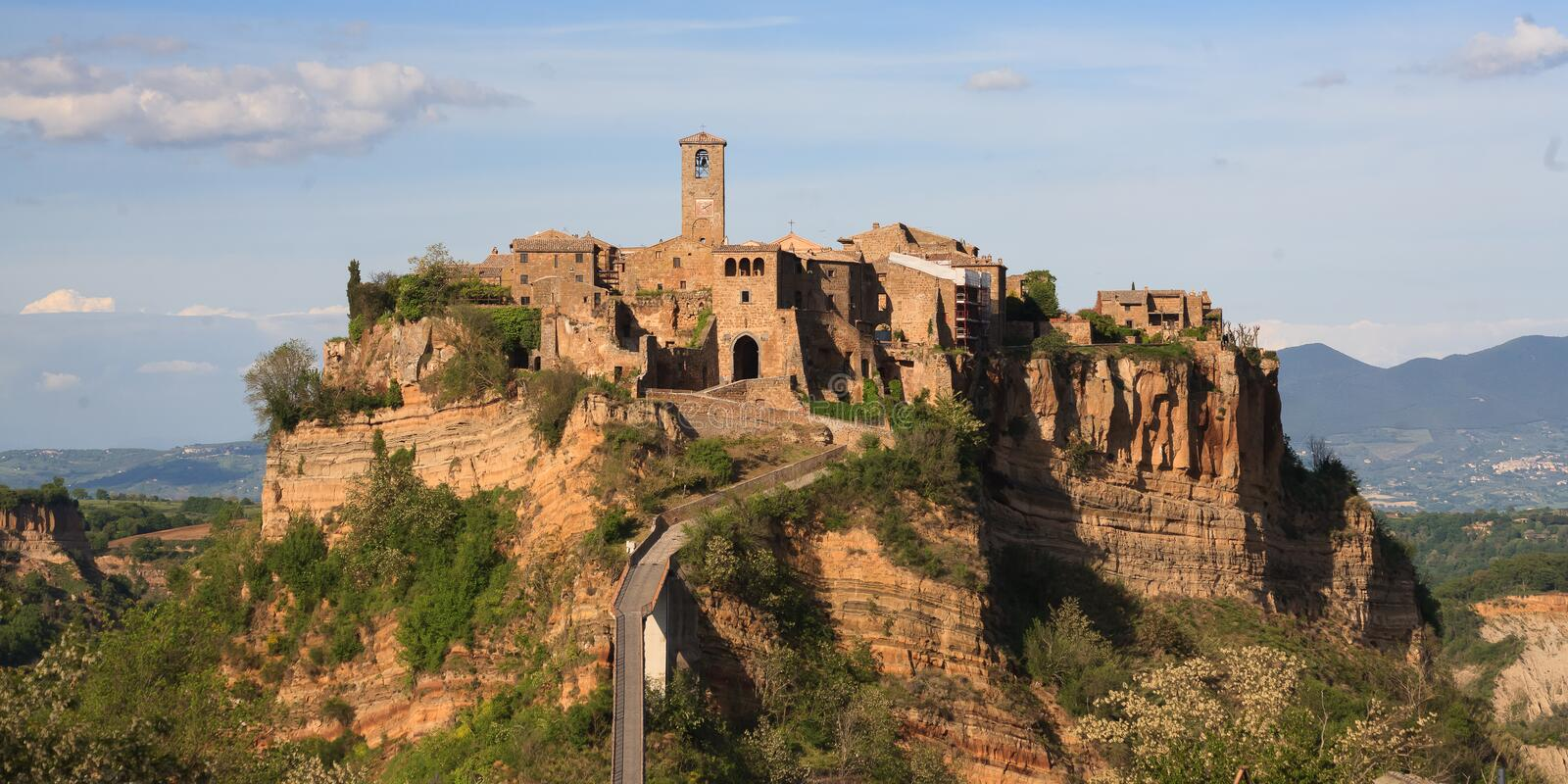 Civita di Bagnoregio images stock