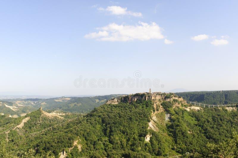 Civita di Bagnoregio (Italia) immagine stock