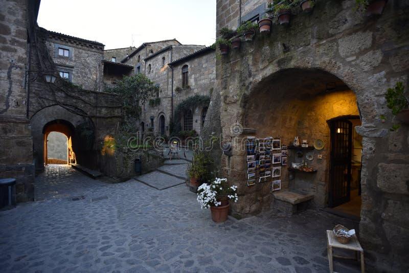 Civita di Bagnoregio na Úmbria, Itália imagem de stock royalty free