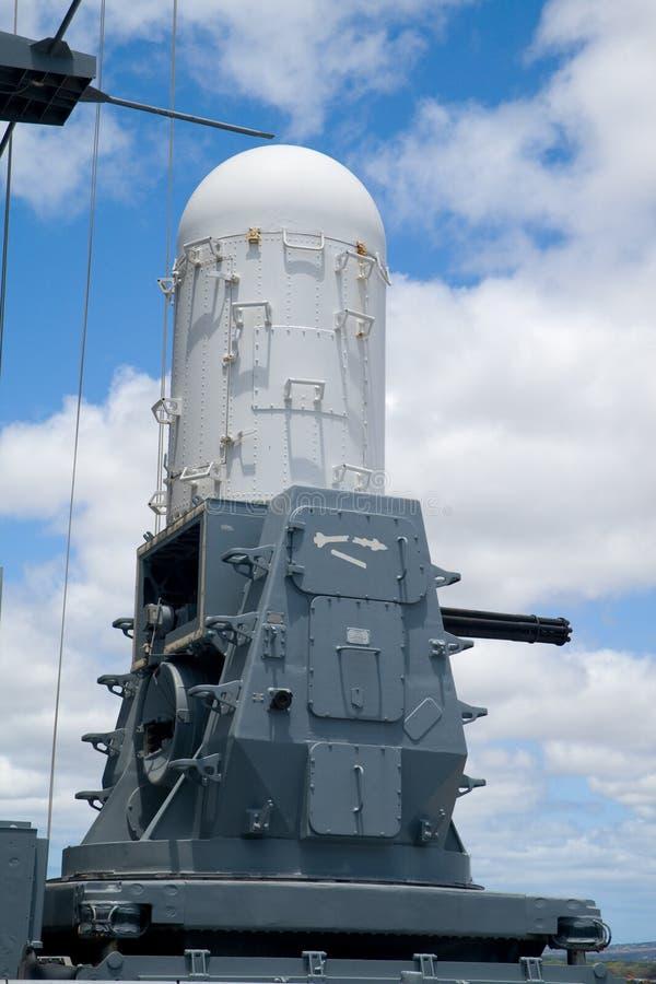 ciws-phalanx arkivbild