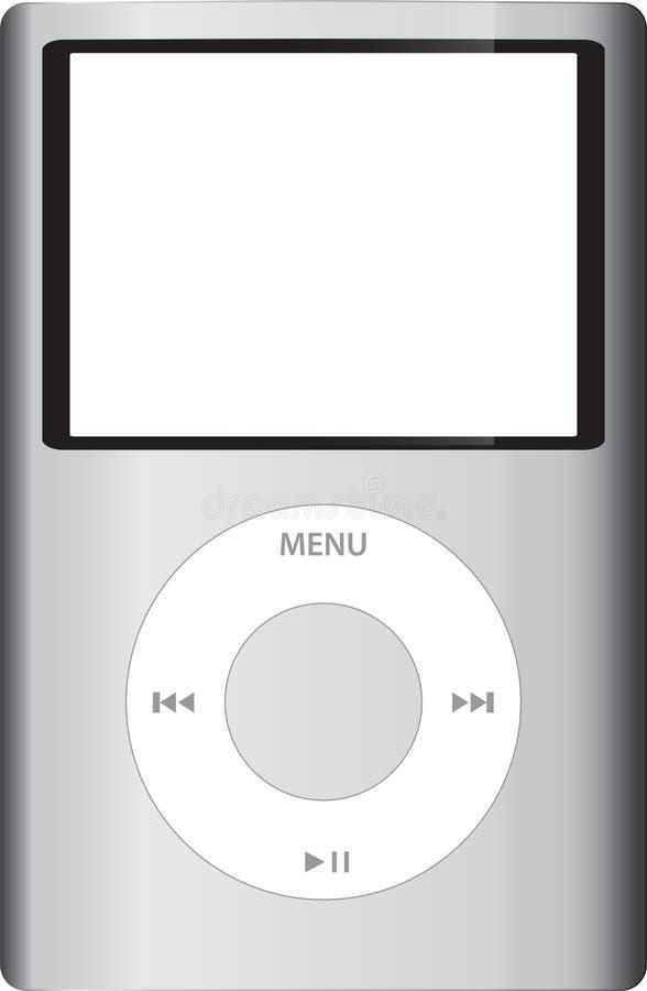 clássico de iPod ilustração do vetor