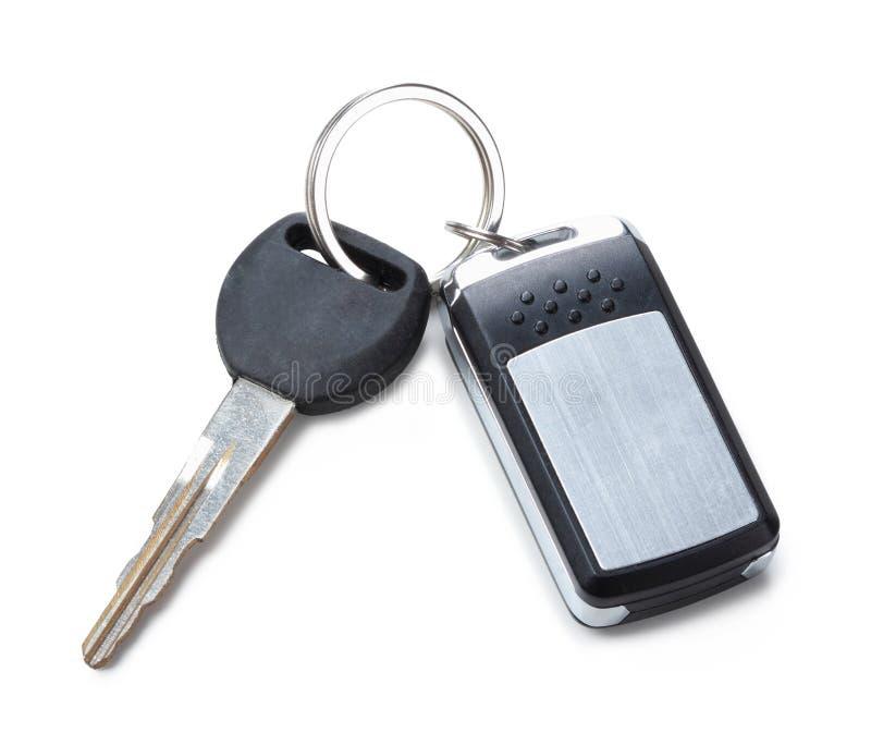 Clé à distance de voiture images libres de droits
