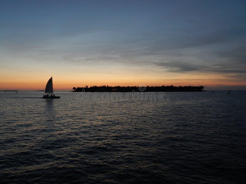 Clé de coucher du soleil photographie stock libre de droits