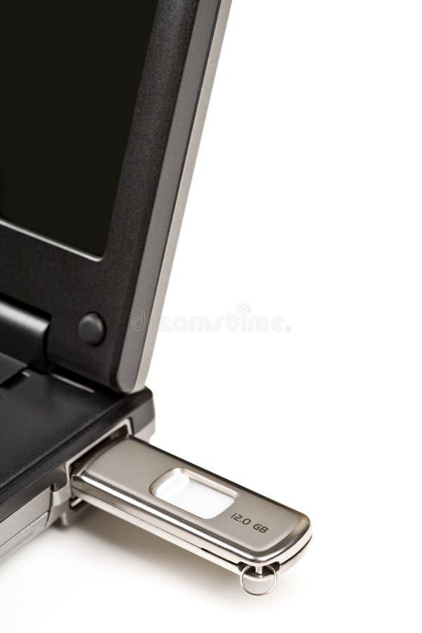 Clé de mémoire d'USB photos libres de droits