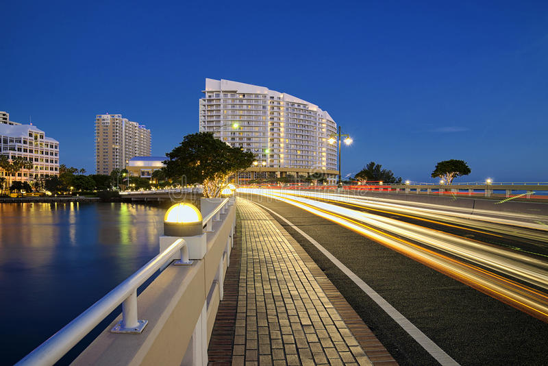 Clé de Miami Brickell photographie stock libre de droits