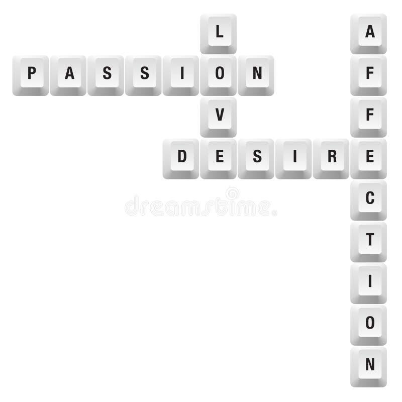 Clé De Passion Image stock