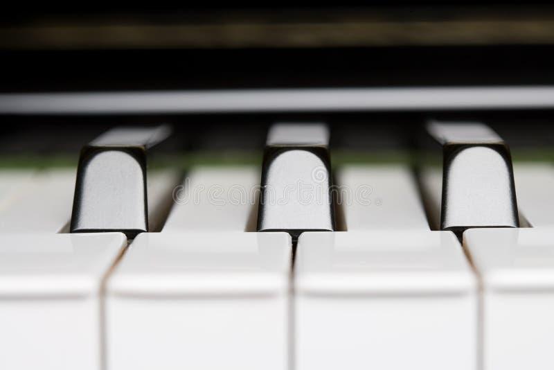 Clé de piano photos stock