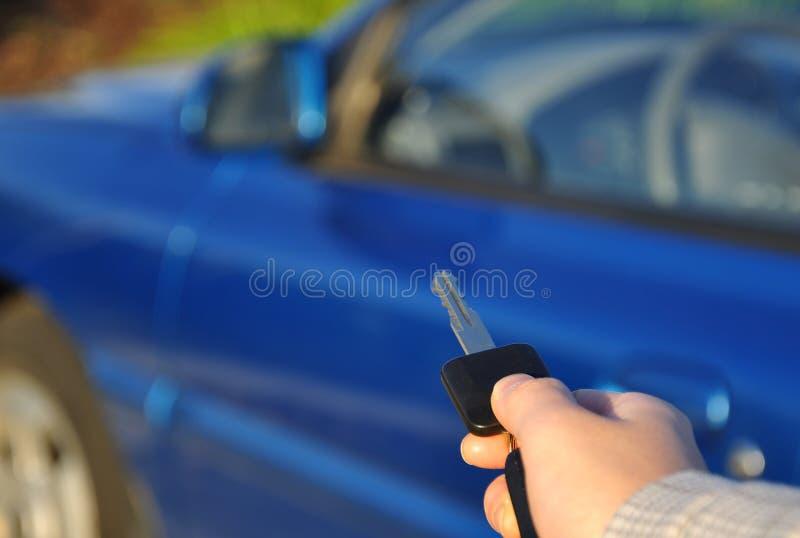 Clé de véhicule photos libres de droits