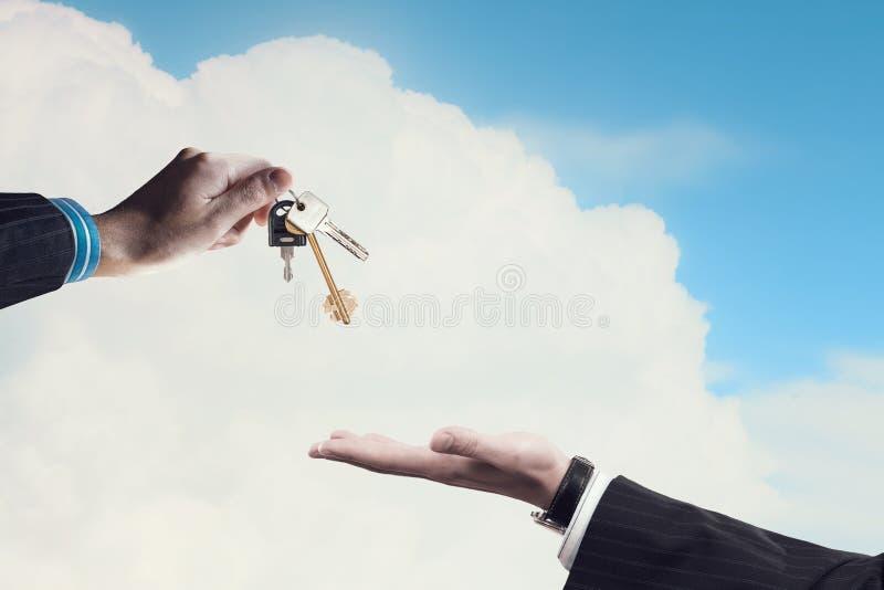 Clés d'appartement image libre de droits
