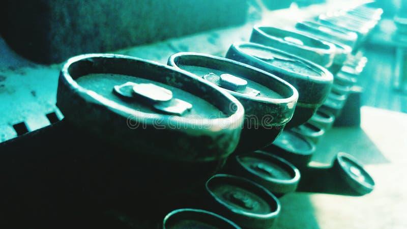 Clés de caisse enregistreuse images stock