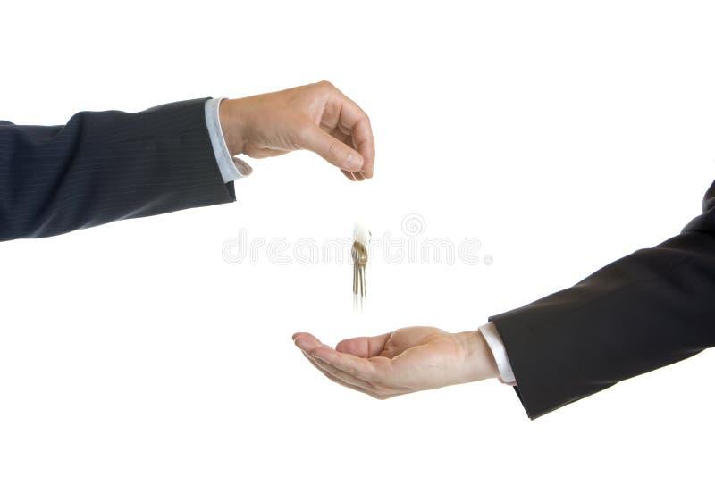 clés de main plus de photo stock