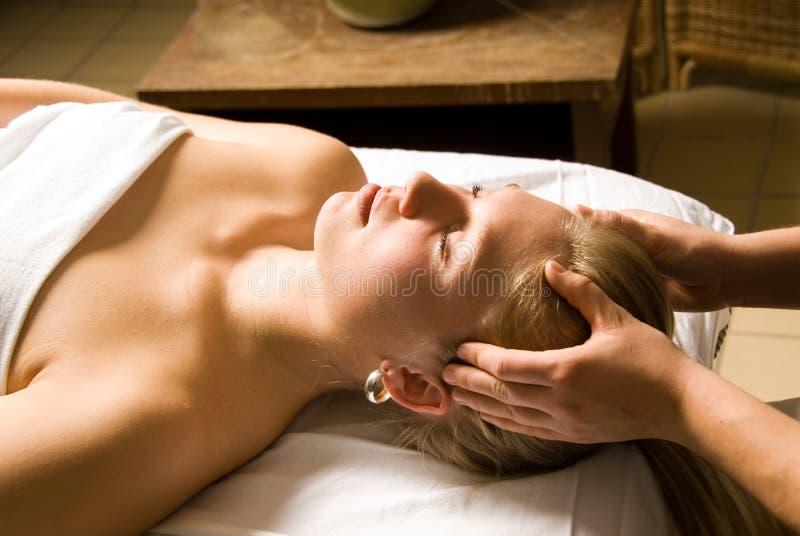 Clínica da massagem fotos de stock